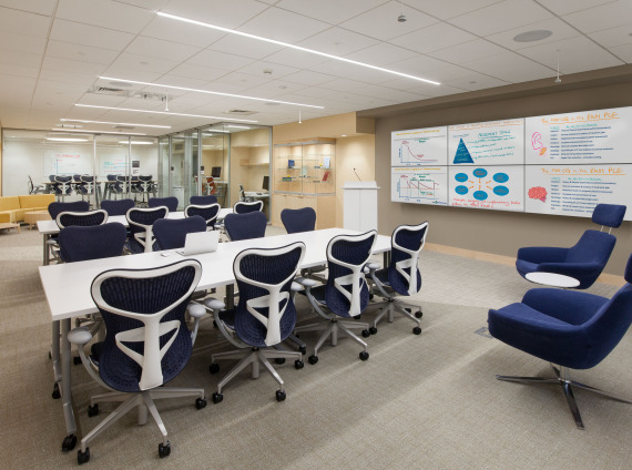 Brigham and Women's Hospital renovates the Brigham Education Institute
