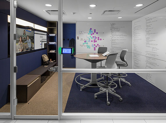 application huddle room