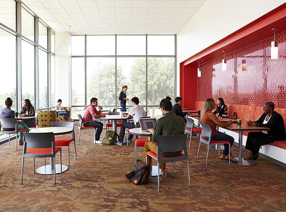 student cafe dining hall
