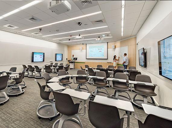 classroom higher education