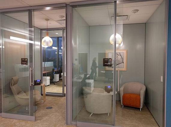 enclave quiet space healthcare VIA