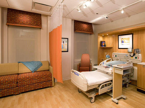 healthcare patient room