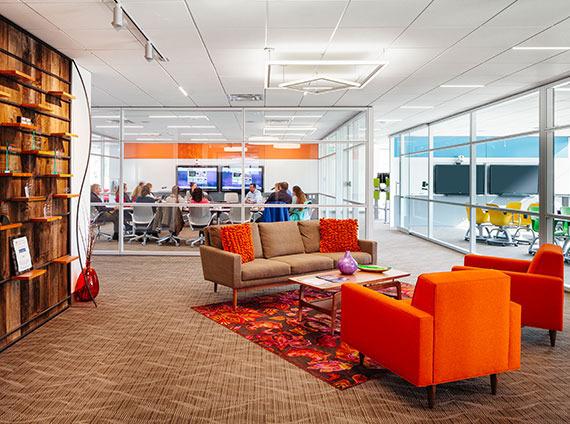 application lobby reception