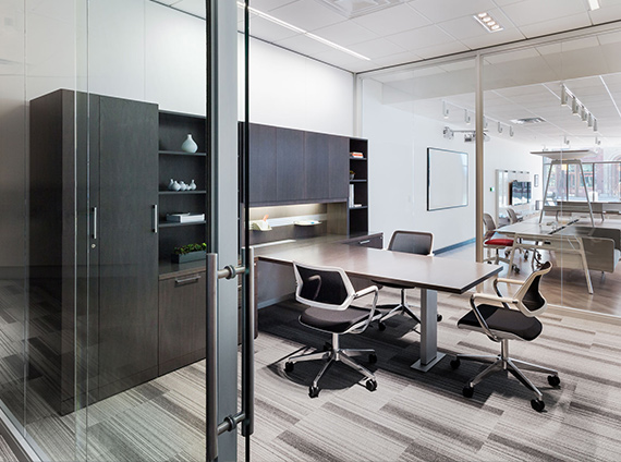 integrated interiors private office