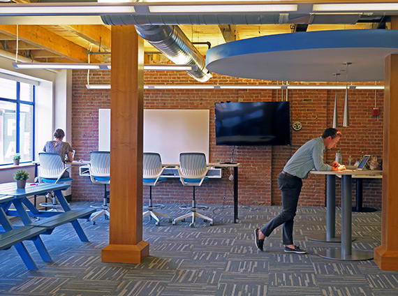 bynder's seaport office celebrates its flexible culture
