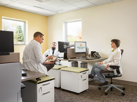 martin's point in gorham, me provides spaces that foster collaboration between providers