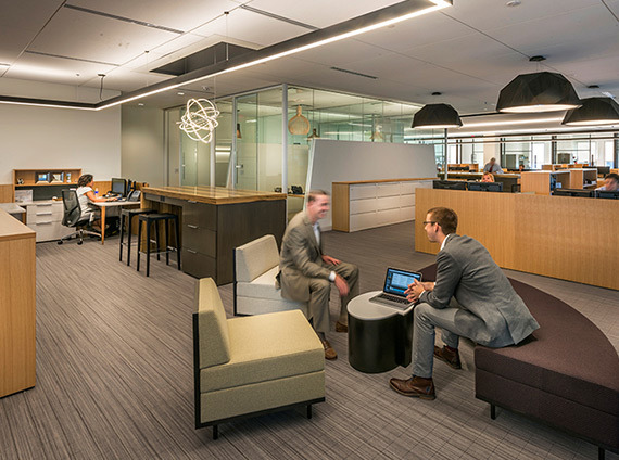 NKF builds out a modern workplace in Boston's financial district