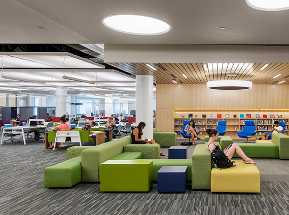 Northeastern's Digital Media Commons provides the latest technology for students