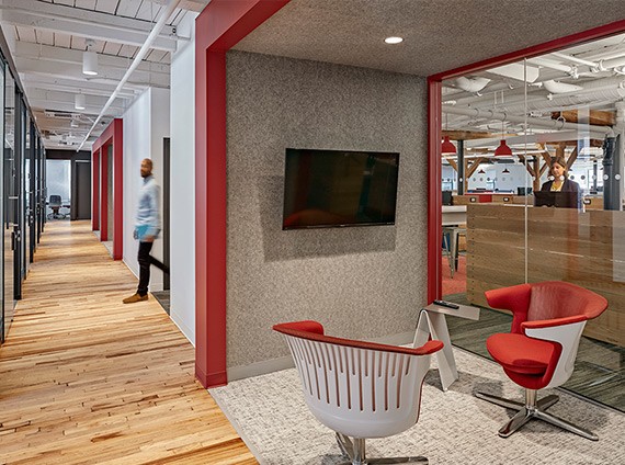 shawmut's new headquarters reflect their history, neighborhood and culture