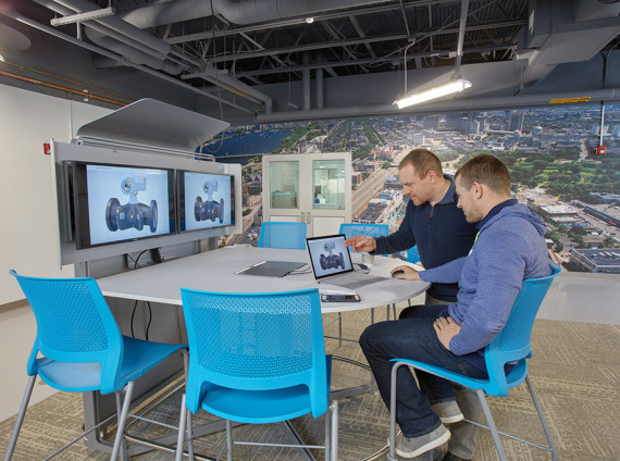 Mediascape for office collaboration