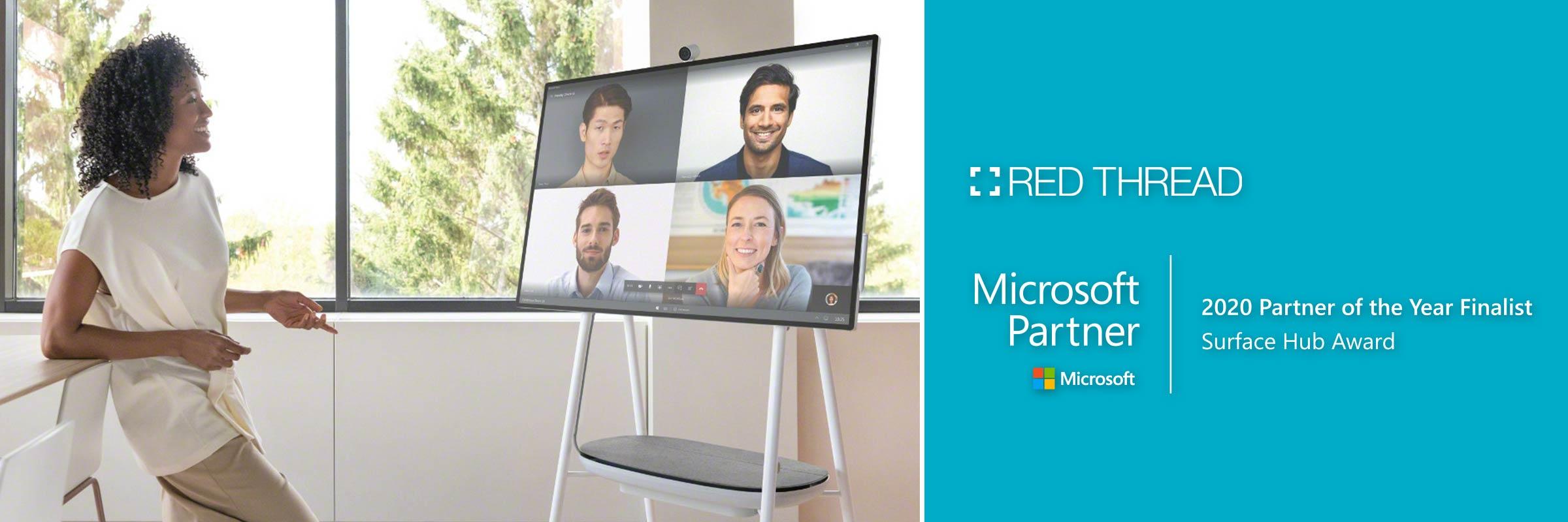 Microsoft Partner Award 2020 Surface Hub Award