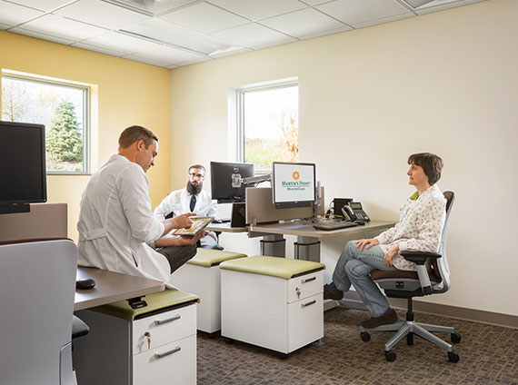 healthcare administrative workstations