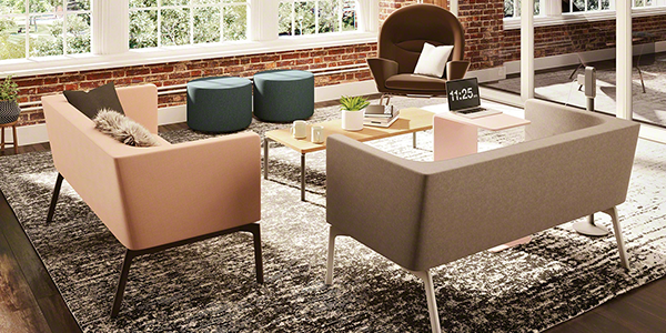 Steelcase seating bivi and oculus