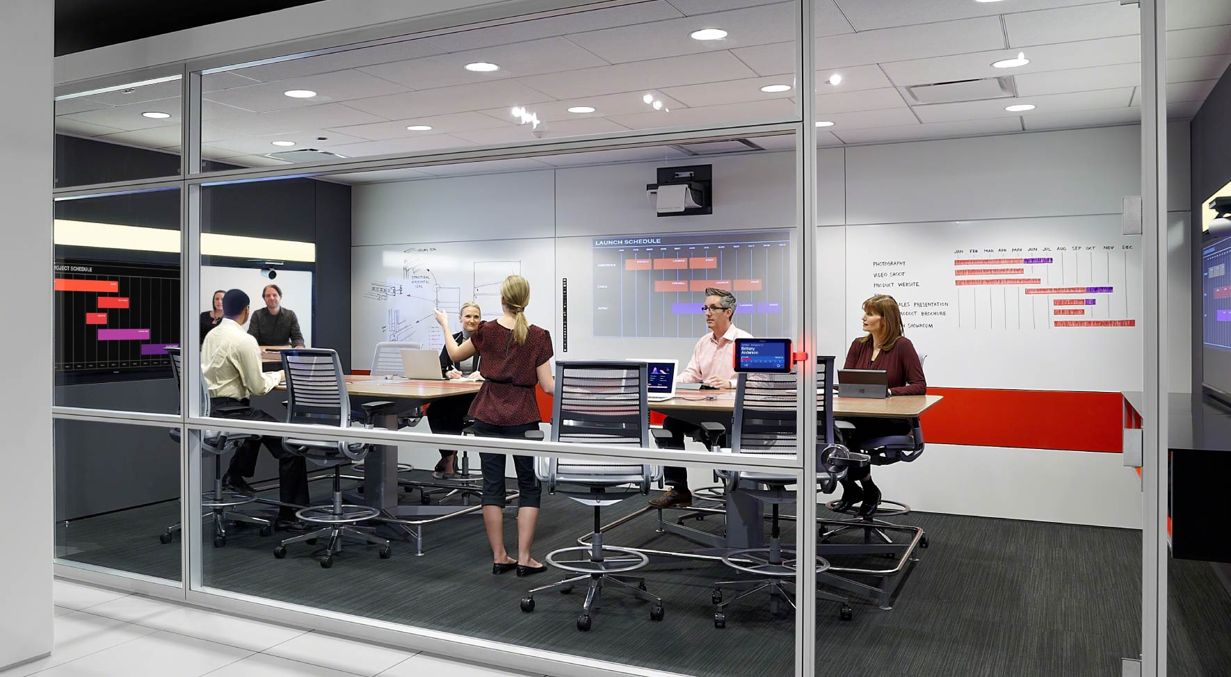 collaborative spaces demountable walls