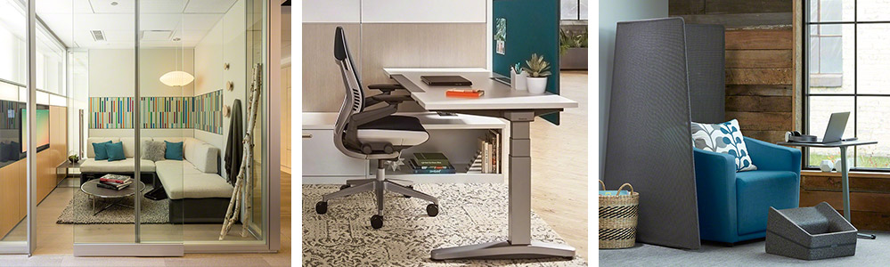ancillary furniture used in focus spaces