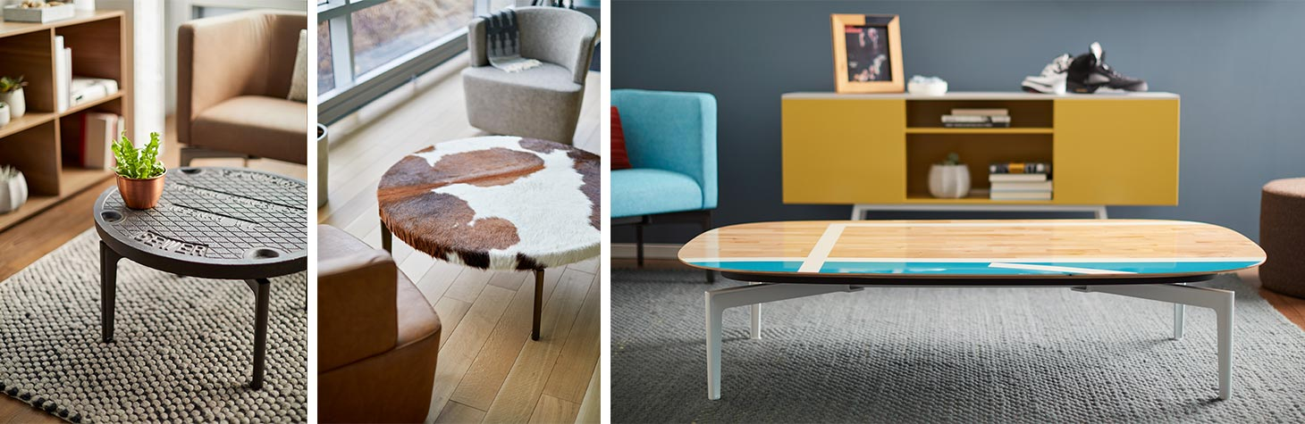Bassline is a fully customizable occasional table