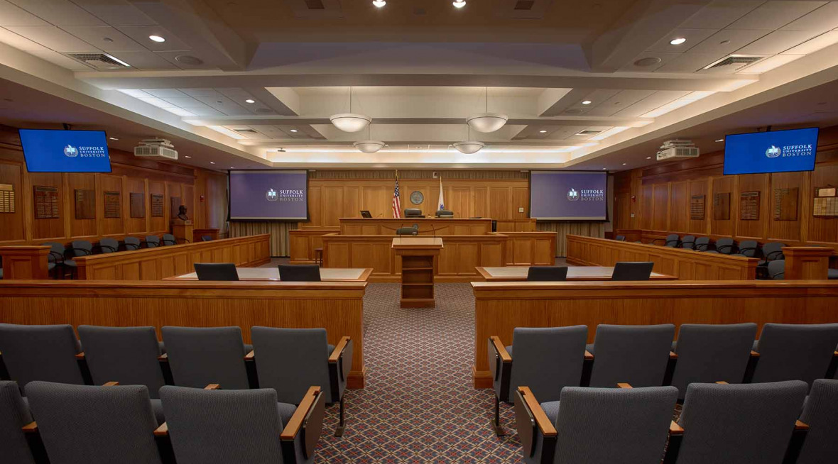 Hon Walther H. McLaughlin Sr. Moot Courtroom