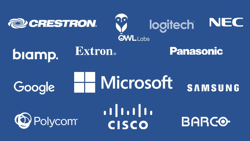 logos from our technology manufacturing partners