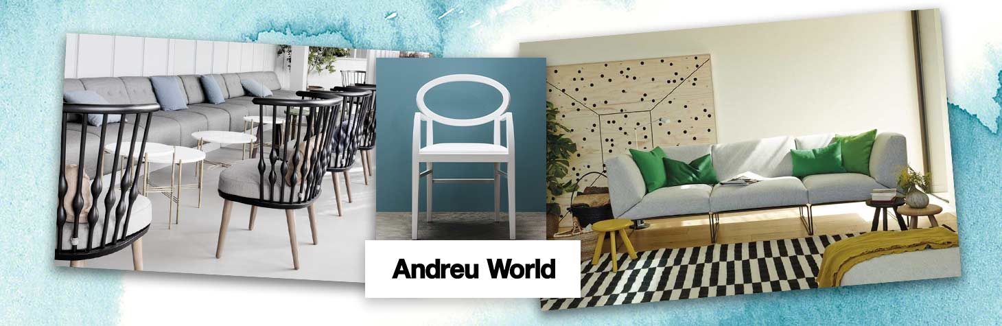 Ancillary furniture by Andreu World