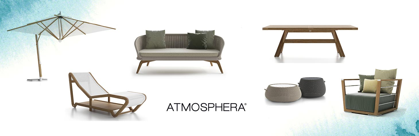 Outdoor office furniture by Atmosphera