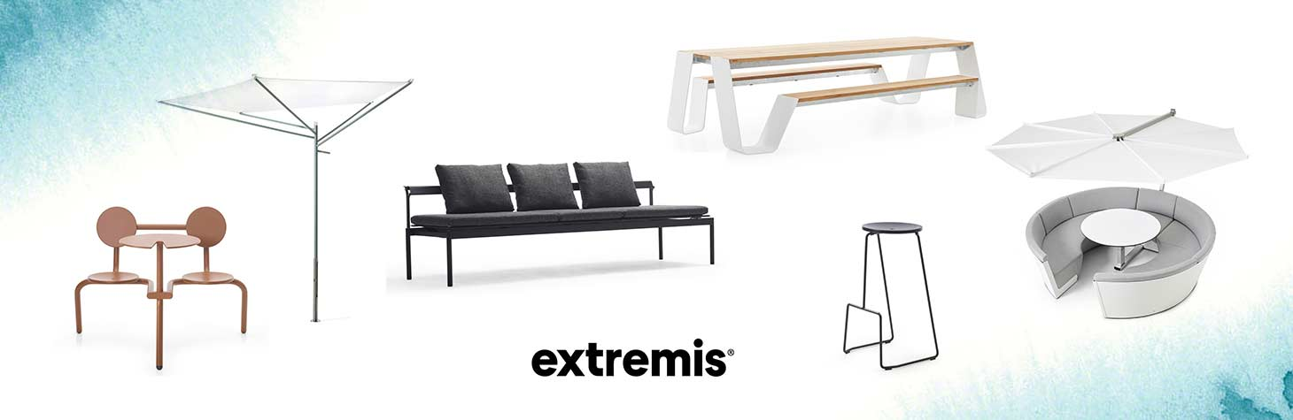 Outdoor office furniture by Extremis