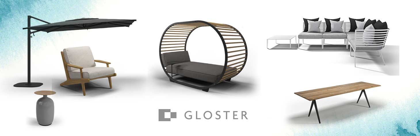 Outdoor office furniture by Gloster