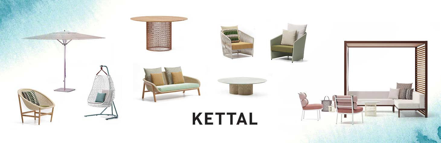 Outdoor office furniture by Kettal