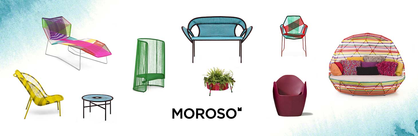 Outdoor office furniture by Moroso