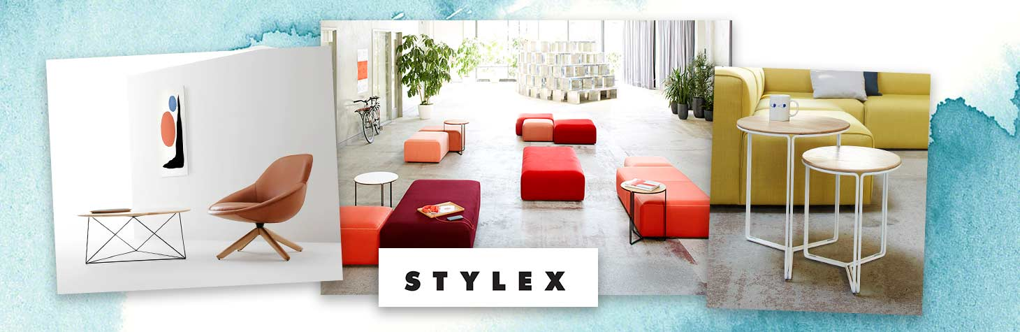 Casual seating by Stylex