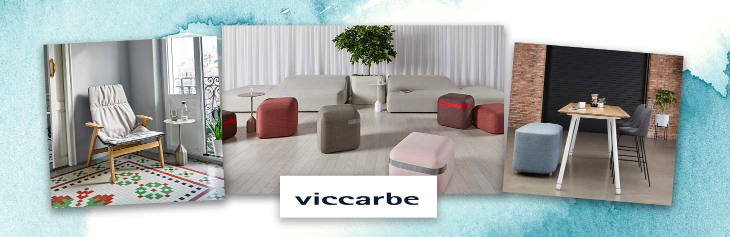 Lounge furniture by Viccarbe