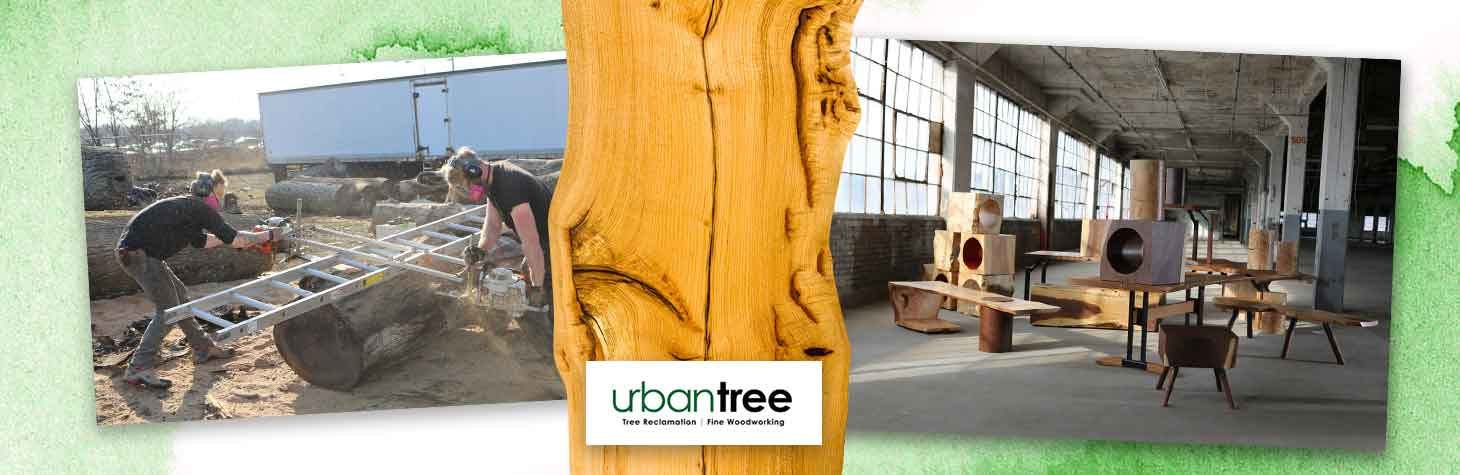 Reclaimed wood furniture by Urban Tree