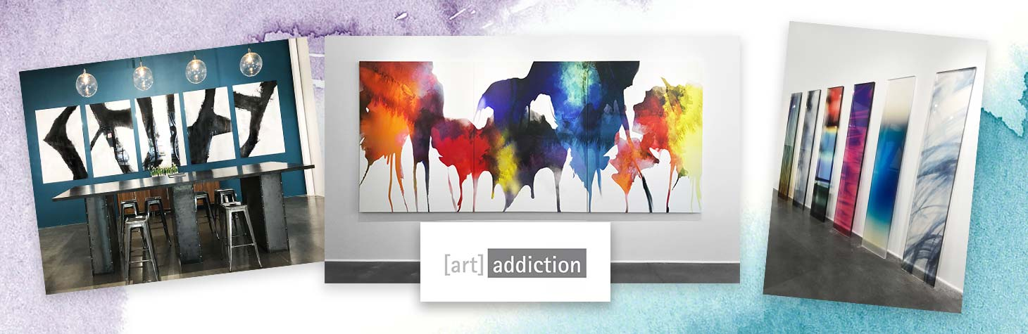 Bright, colorful art accessories by Art Addiction