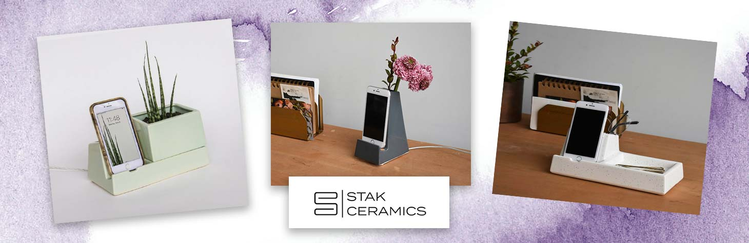 Unique office accessories by STAK Ceramics