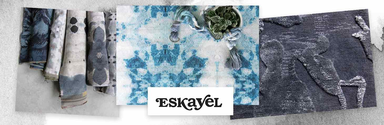 Unique area rugs by Eskayel