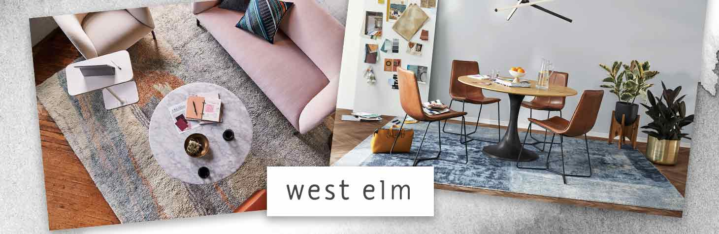 Unique office rugs by West Elm