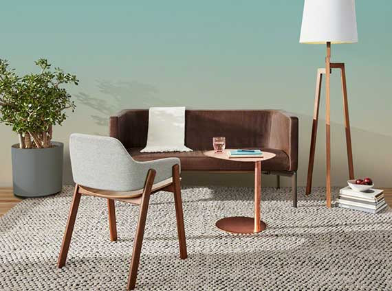 Lounge furniture and accessories by BluDot