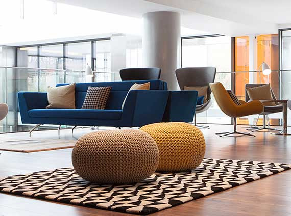Ancillary lounge furniture by Orangebox