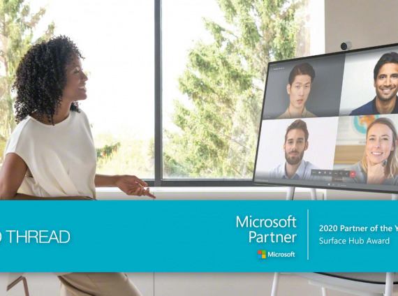 Red Thread recognized as a finalist for the Surface Hub 2020 Microsoft Partner of the Year