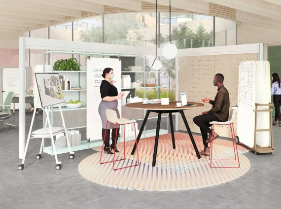 New workplace design concept from Steelcase's Work Better campaign