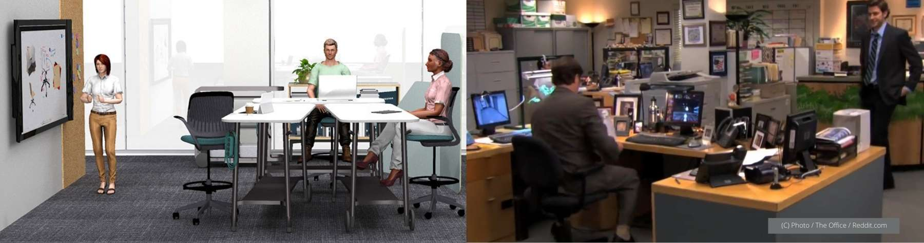 Red Thread's Open Flex Space vs The Office's Megadesk