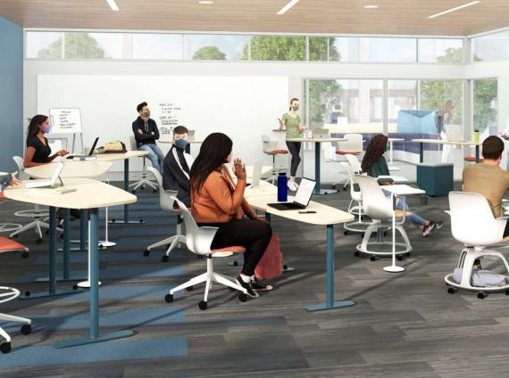 Four Post-COVID Learning Spaces