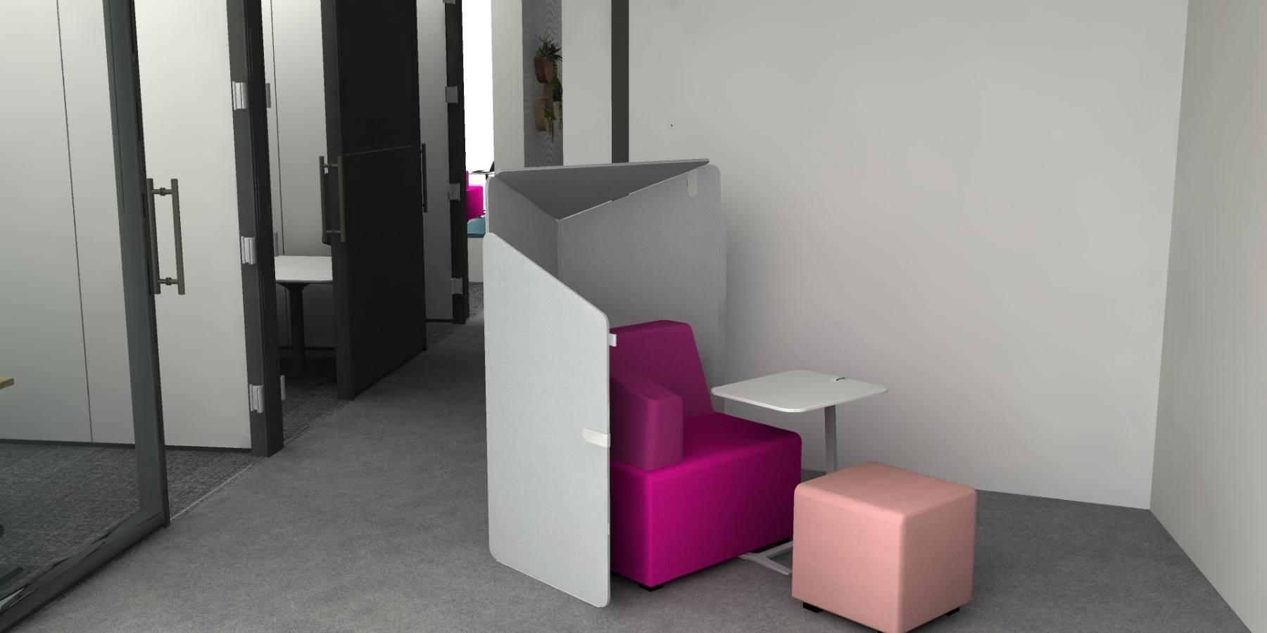 B-Free individual lounges