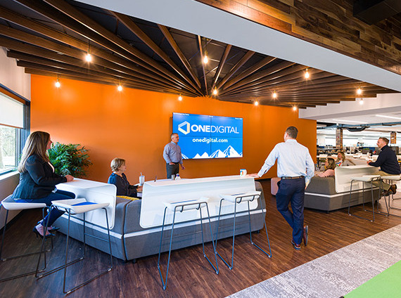 open collaborative lounge