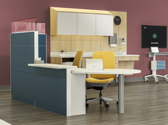 Healthcare clinician workstation