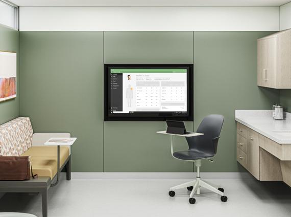 Healthcare exam room multipurpose