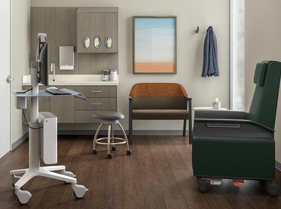 Healthcare exam room