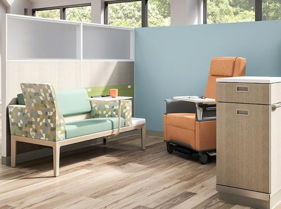 Healthcare infusion area