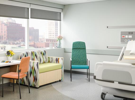Healthcare patient room
