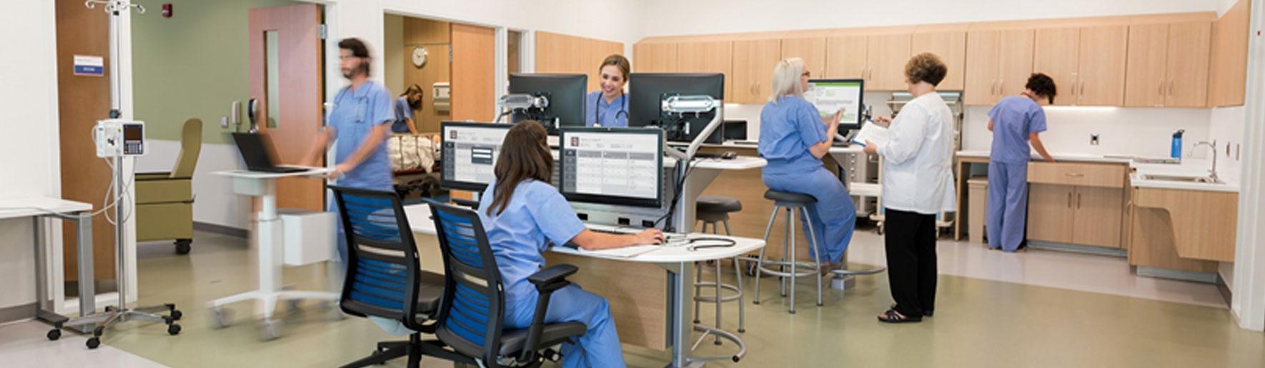 clinician hub by Steelcase