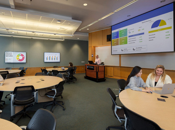 higher education active learning classroom